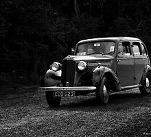 1939 Vauxhall Light Saloon  by Aggpup