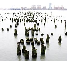 a-pier-ing from the hudson ... by John Dolan