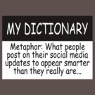 My Dictionary: Metaphor by Ryan Houston