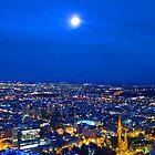 Waxing Moon by Mark B Williams