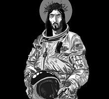 Astro Jesus by Max Alessandrini