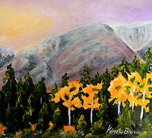Fall in the Rockies by Cal Kimola Brown