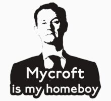 Mycroft is My Homeboy Kids Clothes