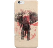 Discreetly Greek :: Elephantitus iPhone Case/Skin