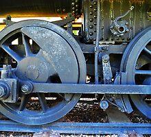 Train Wheels by joevoz