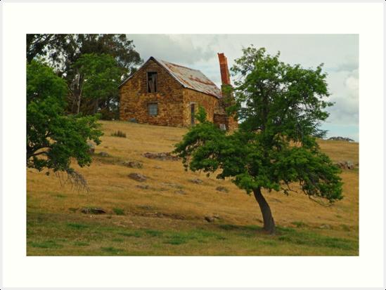 Stone Cottage by Joe Mortelliti