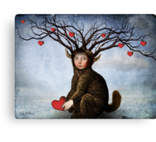 Give me your love Canvas Print