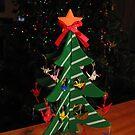Origami Christmas Tree by Midori Furze
