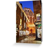 A York Christmas Greeting Card