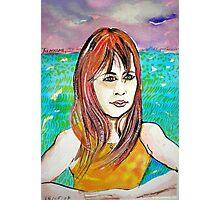 Young Girl Portrait Tamara Photographic Print