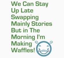 Making Waffles!  by WhisperedDream