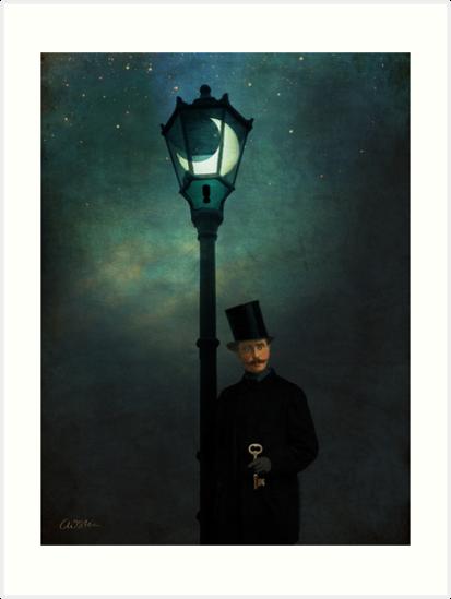 It happened in the moonlight by Catrin Welz-Stein
