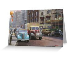 British Railways Austin K2 two-tonner. Greeting Card