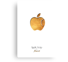 Apple Lego Canvas Print