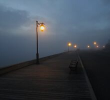 Promenade In Fog by RVogler