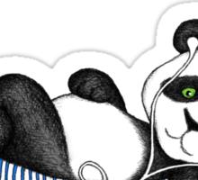 iPod Panda Sticker