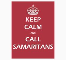 KEEP CALM AND CALL SAMARITANS by markbailey74