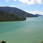 Queen Charlotte Drive Panorama by Mark Bird