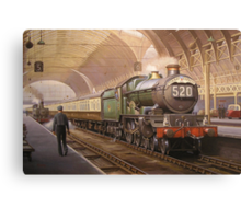 Paddington arrival. Canvas Print
