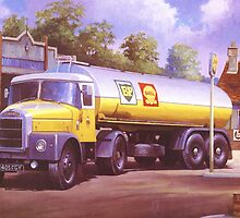 Scammell Highwayman. by Mike Jeffries