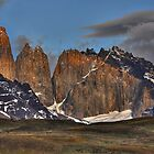 The Peaks of Torres del Paine by Peter Hammer