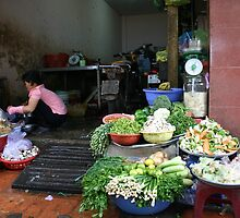 """Vietnamese Kitchen"", Ho Chi Minh City by Morris Lieberman"