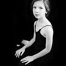 Portrait of a girl by Basia McAuley
