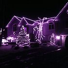 I'm Dreaming Of A Lavendar Christmas by Jane Neill-Hancock