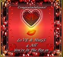 Love and Hugs For All You're In The Top Ten by EnchantedDreams