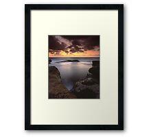 """""""Gleaming"""" ∞ Little Bay, NSW - Australia Framed Print"""