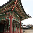 Porte Cochère, Changdeokgung Palace by Jane McDougall