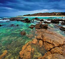 Rocky Coastline by Jill Fisher