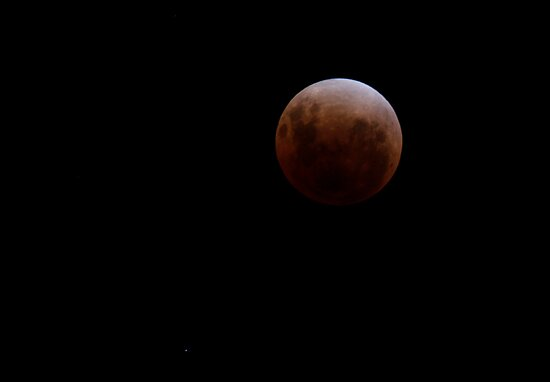 Lunar Eclipse - December 10 2011 by Sandra Chung