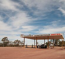 Refueling on Outback Remoteness by Bearfoote