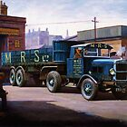 Scammell MRS 1931 by Mike Jeffries