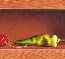 """Sweet & chilli"" by Elena Kolotusha"