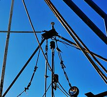Shrimp Boat Rigging  by joevoz