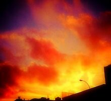 fire in the sky by ShellyKay