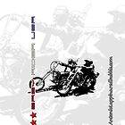 easy rider usa (Iphone case) by Antonio  Luppino