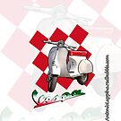 Vespa (Iphone case) by Antonio  Luppino