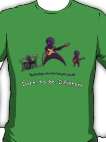 Dare to be Different Band edition T-Shirt