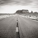 Road to Monument Valley by Steve Silverman