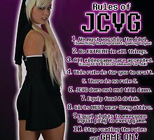 J.C.V.G. Rules Poster by BaronVonRosco