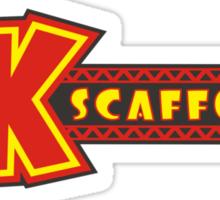DK Scaffolding Sticker
