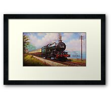 The Torbay Express Framed Print