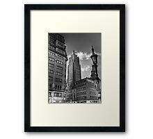 Torre Magica - Madrid Framed Print