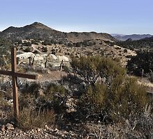 Old Cemetery, Virginia City by Bob Moore