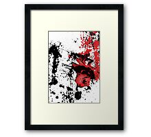 Techno Flamenco - Drumfunk. Whitnoise Framed Print