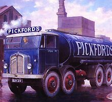 Pickford's Armstrong Saurer by Mike Jeffries