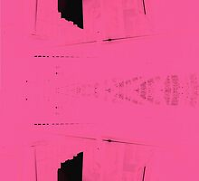 Pink Edit of New York 02 by Zane Walker